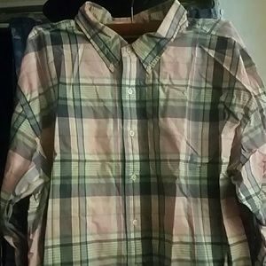 Polo Ralph Lauren plaid long sleeve button shirt